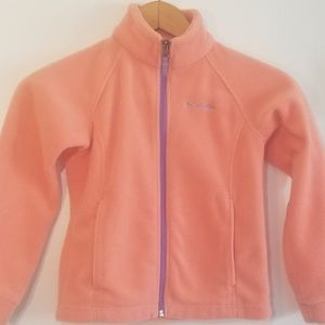 Girl Soft Peach Warm & Dry Fleece Jacket Sale🍂🍁